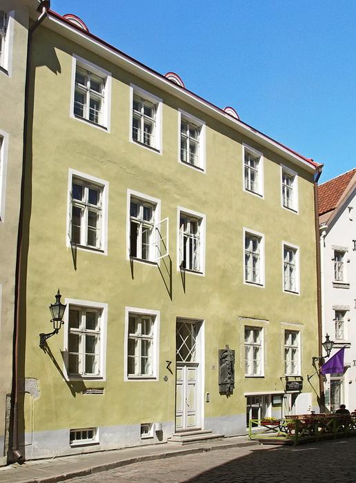 Дом семьи Зиттова в Таллинне
