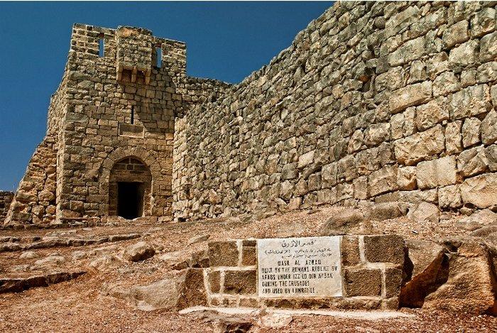 Крепость Азрак на Аравийском полуострове сохранила следы и арабского завоевания, и значительно более ранних римских построек