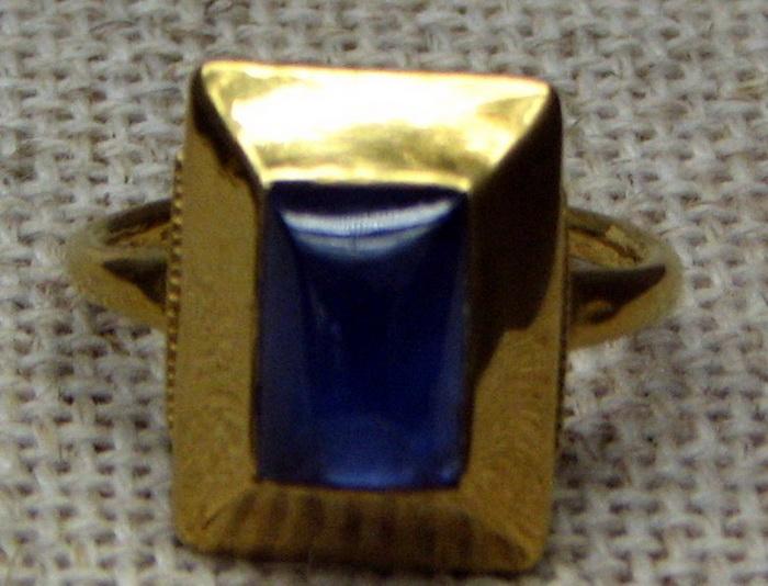 Перстень епископа XII века