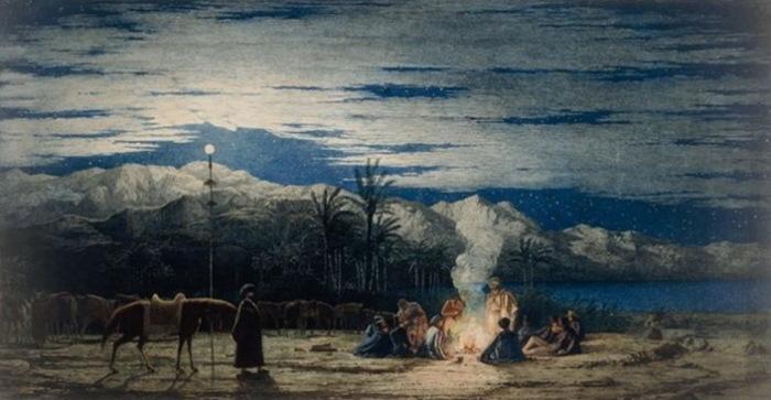 Р. Дадд. Остановка в пустыне