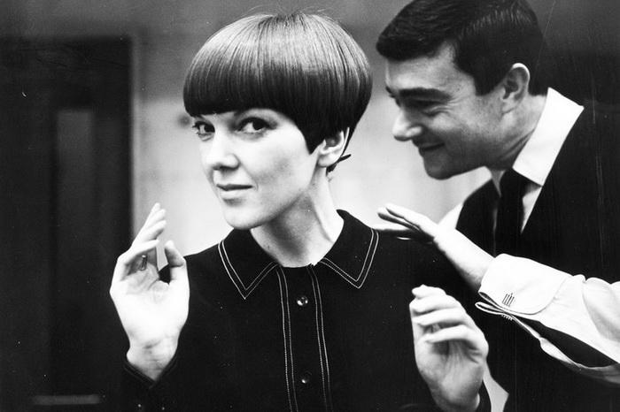 Мэри Квант и знаменитая пятиконечная стрижка Сассуна