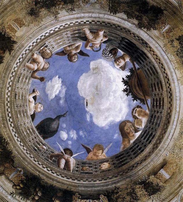 А. Мантенья. Фреска Капеллы дельи Споси