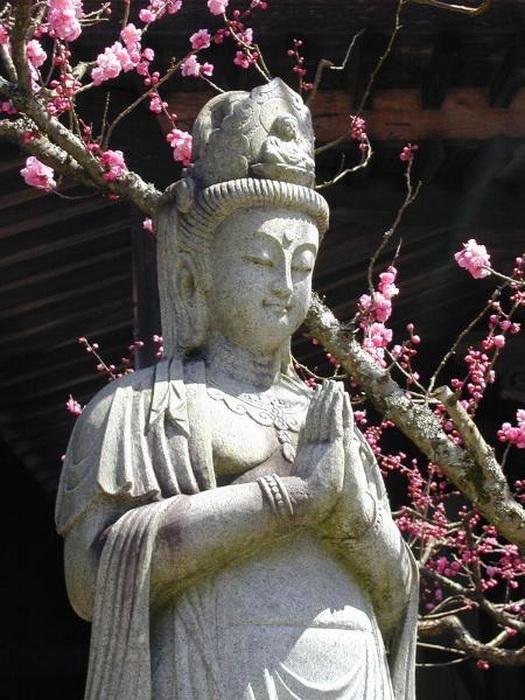 Кудара Каннон - японская богиня милосердия