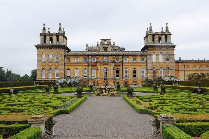 Дворец Бленхейм, родовое поместье герцогов Мальборо