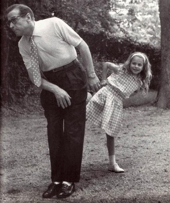 Сименон с дочерью Мари-Джо