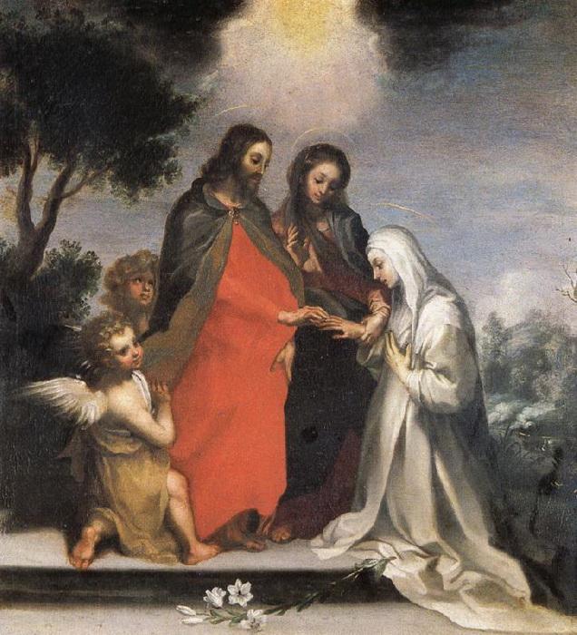 Фр. Ванни. Обручение Святой Екатерины Сиенской