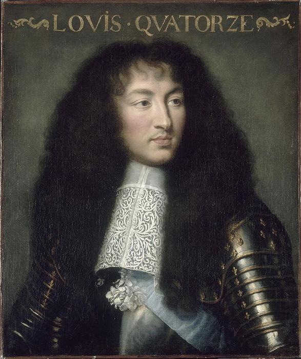 Ш. Лебрен. Людовик XIV
