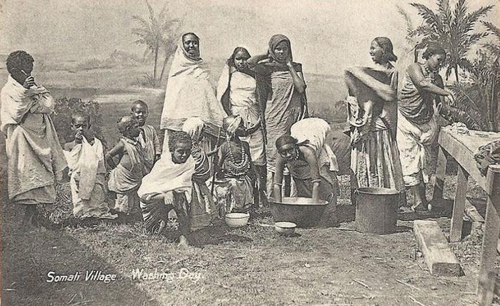Сомалийцы в начале XX в.