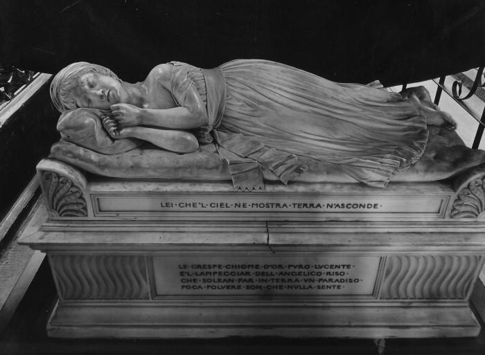Мраморное надгробие работы Т. Бэнкса