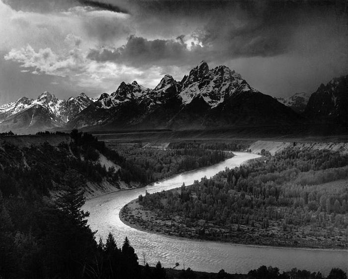 Хребет Титон и река Снейк