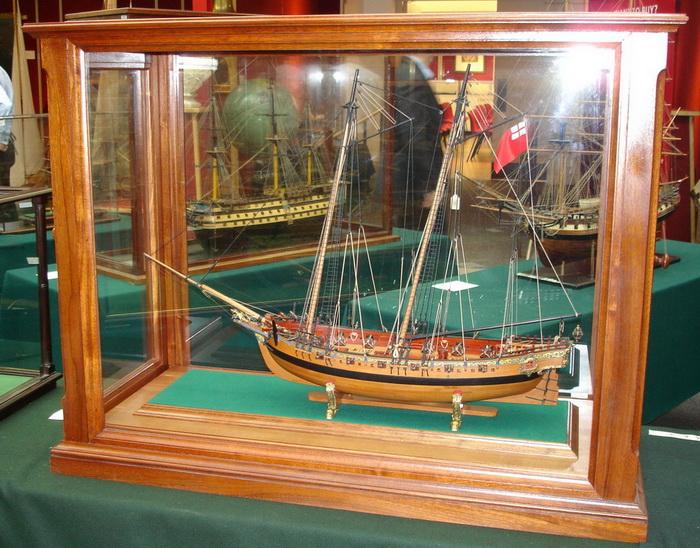 Модель яхты «Транспорт Ройал»