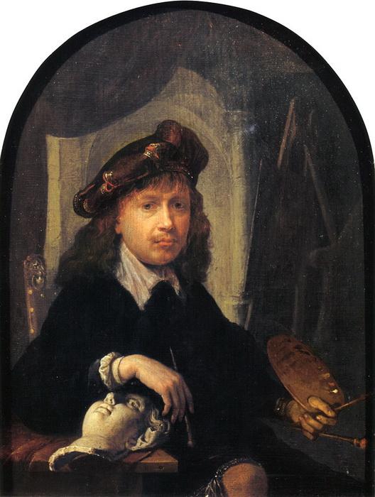 Автопортрет Г. Доу в возрасте около 24 лет.
