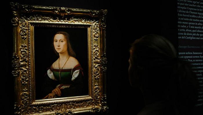 В 2016 году «Немая» в числе других картин Рафаэля демонстрировалась на выставке в Москве