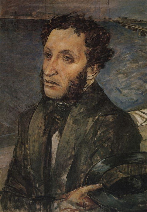 К. Петров-Водкин. Пушкин в Петербурге