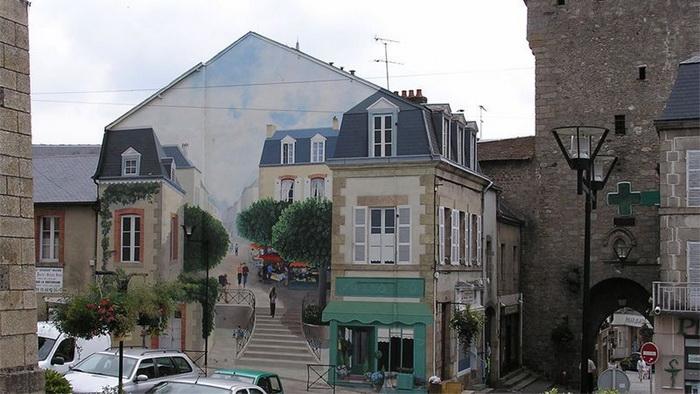 Современный тромплей - уличная роспись