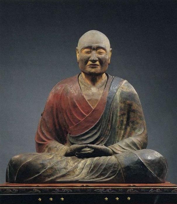 Скульптурное изображение Гэндзи