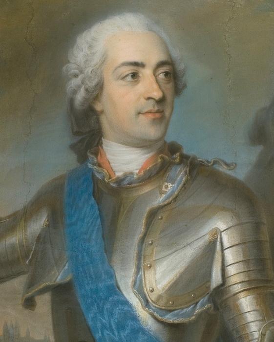 Денон быстро вошел в круг приближенных короля Людовика XV