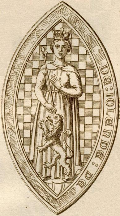 Иоланда де Дре после смерти короля вновь вышла замуж и в новом браке все же стала матерью
