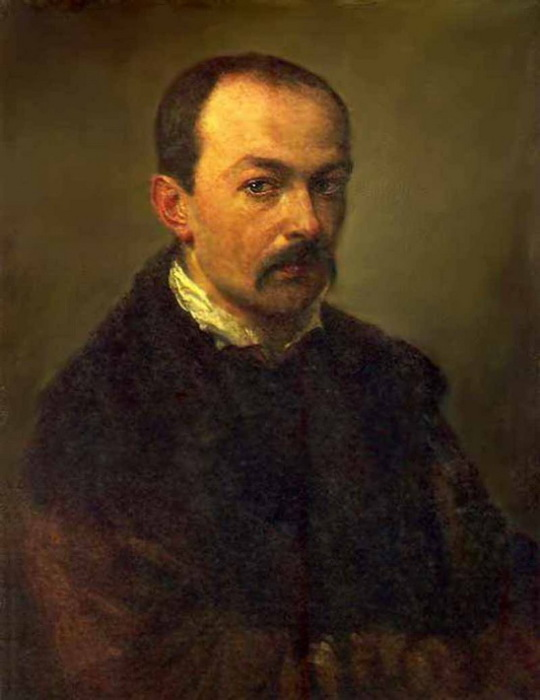 П.А. Федотов. Автопортрет