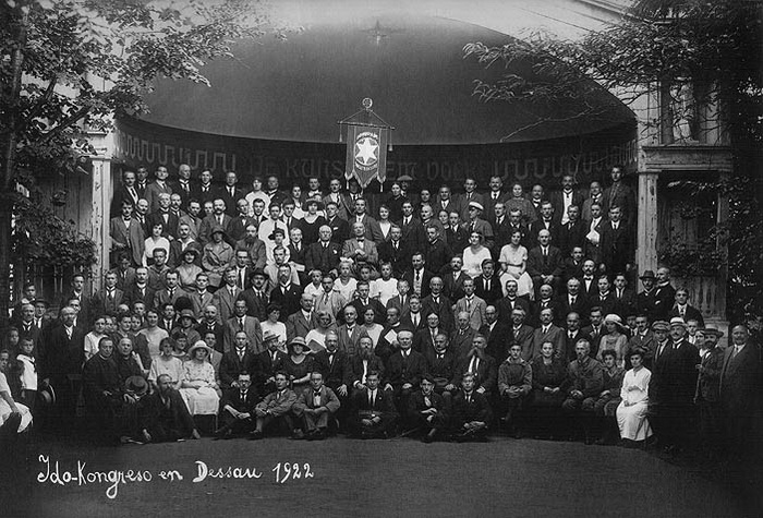 Международный конгресс языка идо в 1922 году