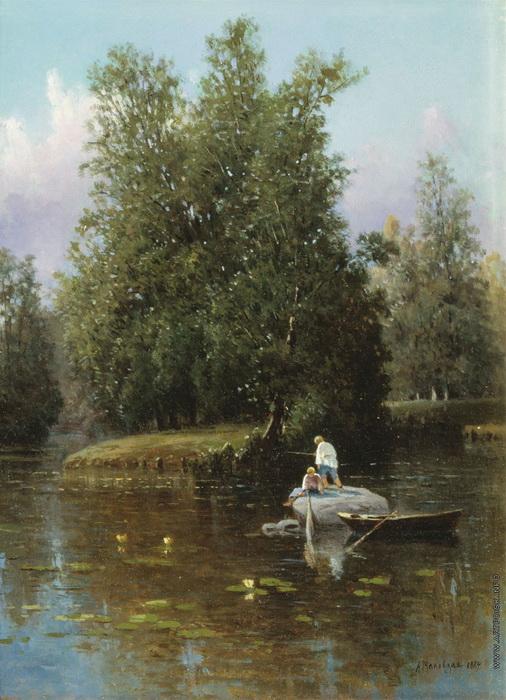 Александра Маковская. В окрестностях Петербурга