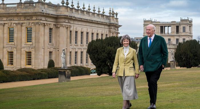 Нынешние герцог и герцогиня Девонширские
