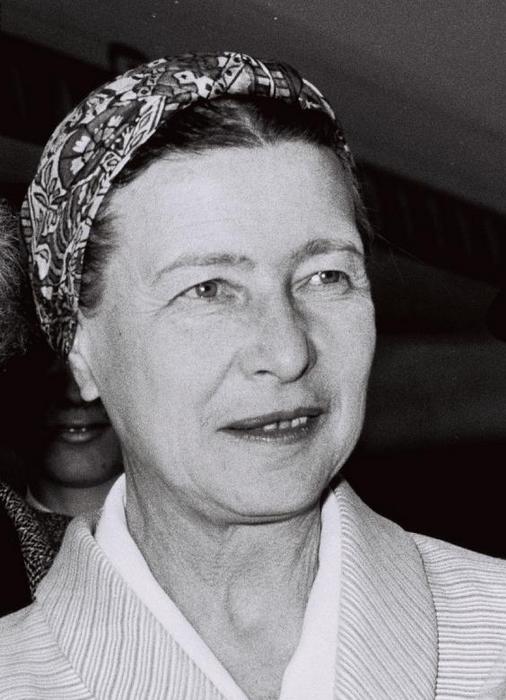 Симона де Бовуар получила премию в 1954 году за произведение «Мандарины»
