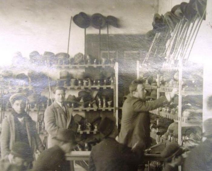 Магазин шляп в Турецкой республике