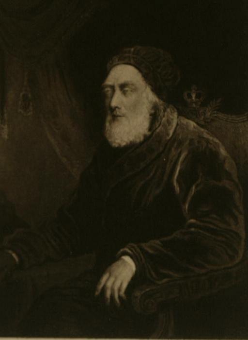 Неизвестный художник. Ослепший Георг III в последние годы