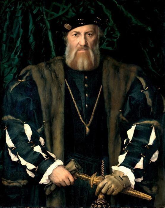 Г. Гольбейн-мл. Портрет Шарля де Солье.