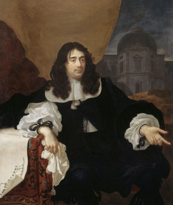 Луи Лево - один из архитекторов, строивших Версальский дворец