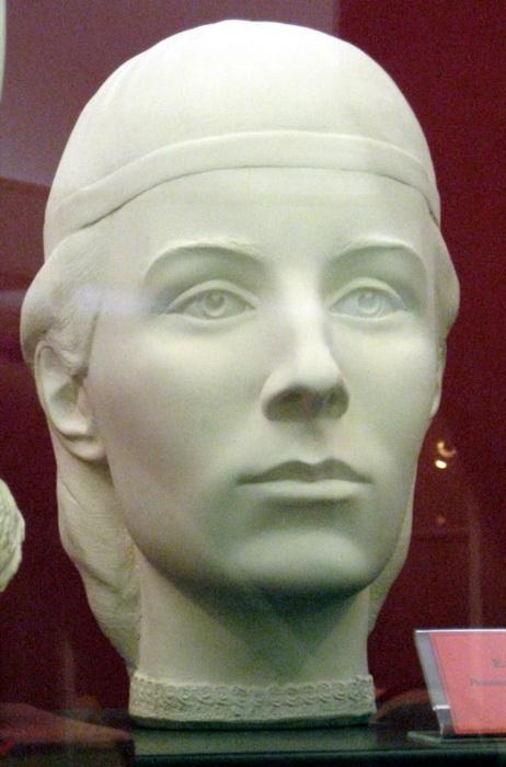 Елена Глинская, реконструкция лица по черепу