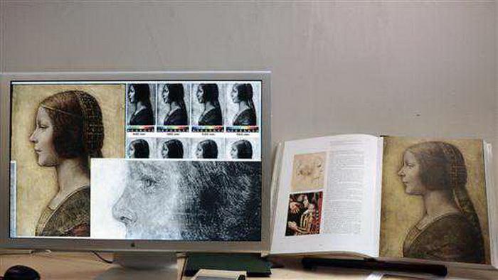Исследование рисунка проводилось с использованием новейших технологий
