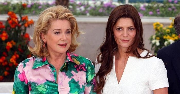 Катрин с дочерью Кьярой