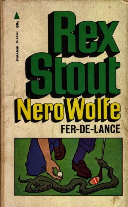Одно из первых изданий о Ниро Вульфе