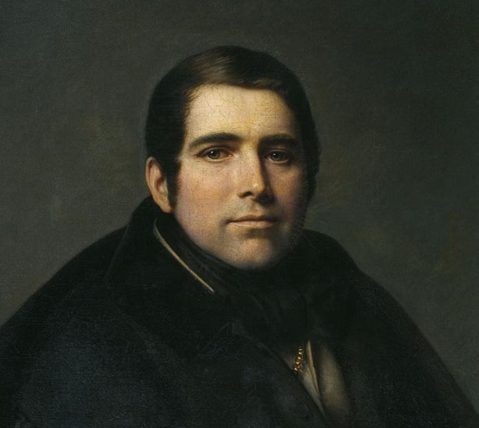 А.В. Тыранов. Портрет П.А. Плетнева
