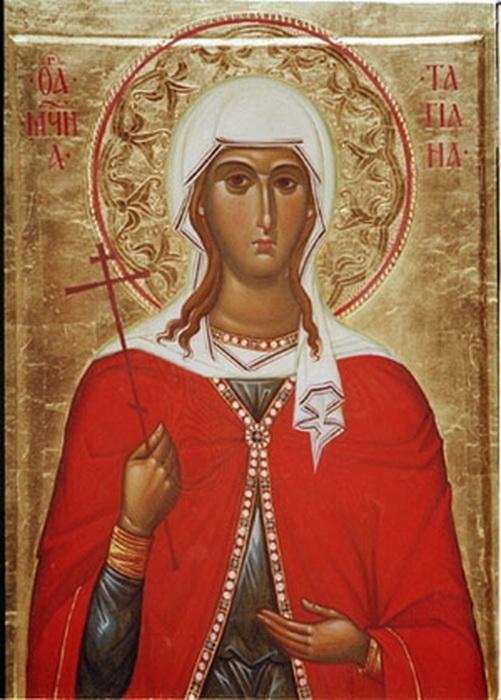 Святая Татьяна, диаконисса