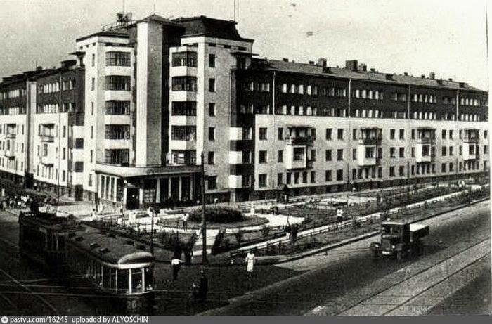Дом по улице Осипенко был передвинут во время реконструкции