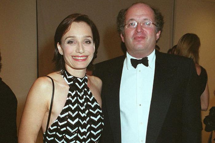 Кристен Скотт Томас с мужем Франсуа Оливенном