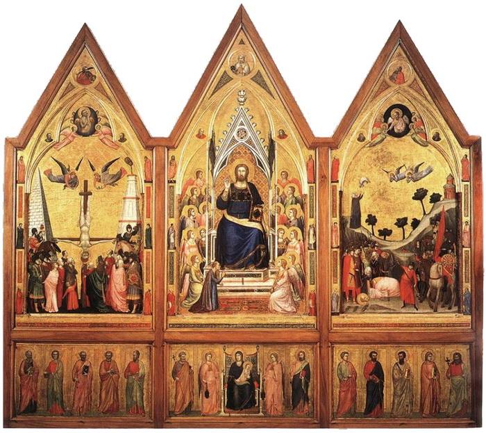 Триптих работы Джотто