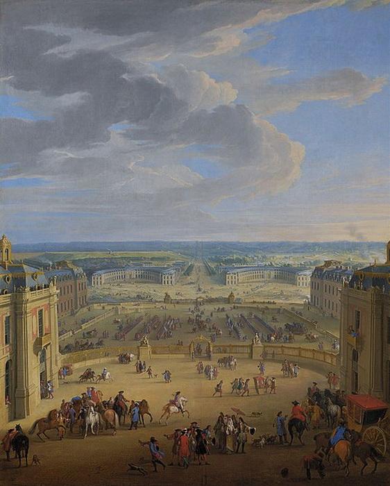 Ж.-Б. Мартен. Конный двор в Версале