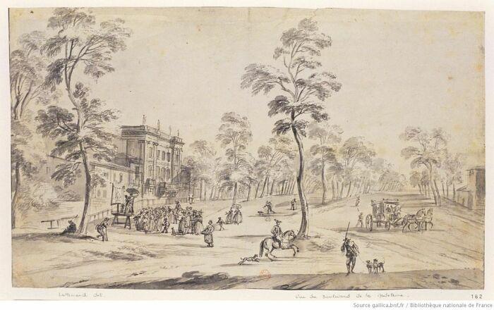 Бульвар Капуцинок в Париже вскоре после его создания