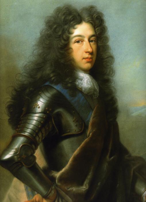 Герцог Бургундский, отец будущего короля Людовика XV