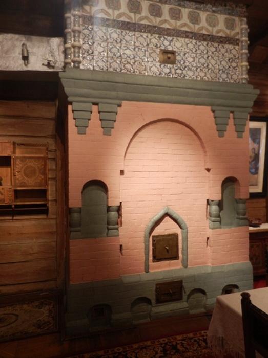 Печь в доме В.Васнецова