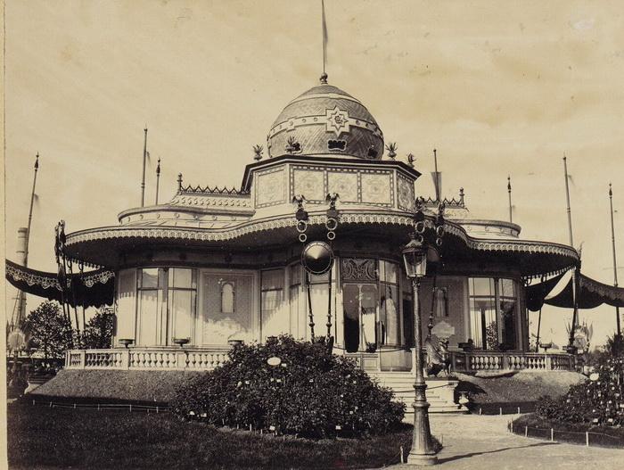 Один из павильонов выставки 1867 года