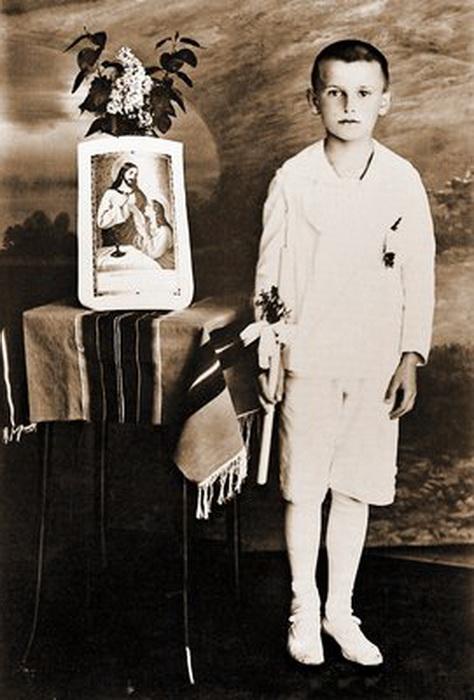Кароль Войтыла в детстве