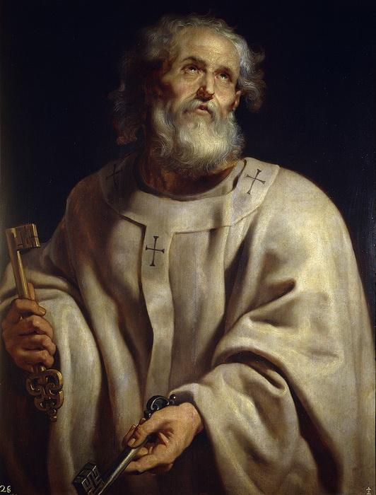 П.П. Рубенс. Апостол Петр