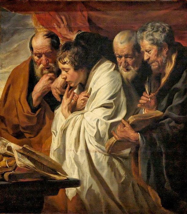 Я. Йорданс. Четыре евангелиста