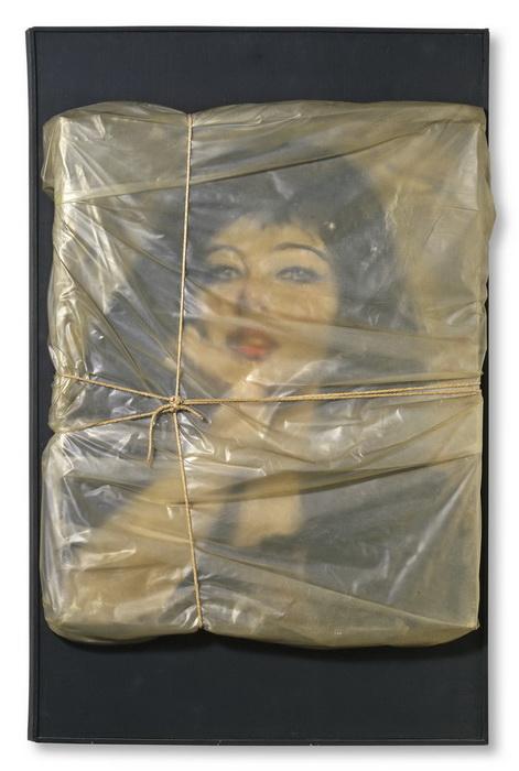 «Обернутый портрет Жанны-Клод»