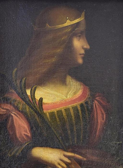 Обнаруженный в Швейцарии портрет, предположительно Изабеллы д'Эсте